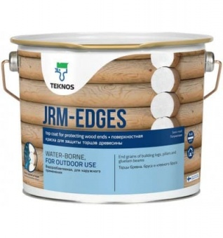 Краска Teknos JRM-EDGES WHITE BASE PAINT 1 для торцов 2,7л